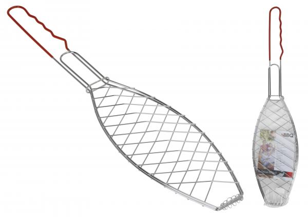 Прибор за гриловане на риба 58см