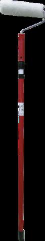 Валяк с телескоп. дръжка 25 см