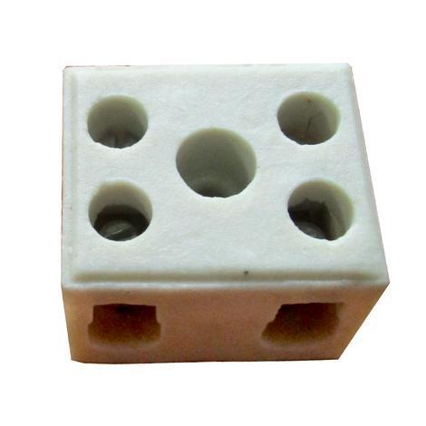 Клема порцеланова 2,5 мм2 двойна