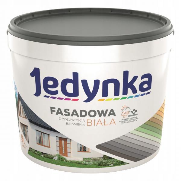 Акрилна боя за фасади и интериор - бяла/база 9л