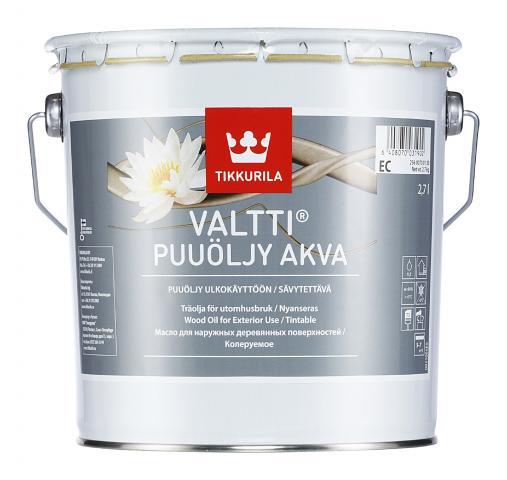 Масло за дърво VALTTI WOOD OIL AKVA EC 2.7л