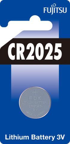 Батерия  Fujitsu 3V CR2025