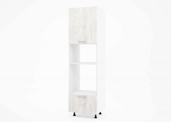 Крафт К2 колонен шкаф за фурна и микровълнова, светло дърво