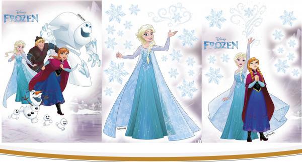 Стикер за стена Frozen 35x50 см