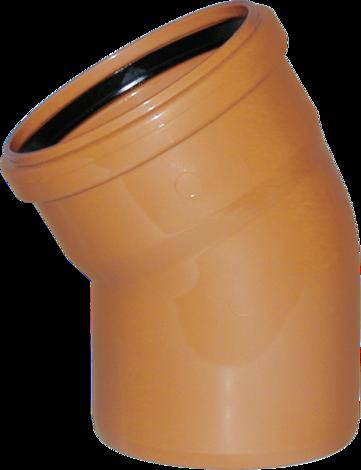 PVC Коляно (дъга) 110x67°