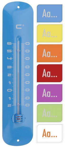 Термометър 30см цветни