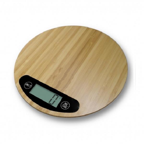 Кухненска везна бамбук HOMA HS-555B