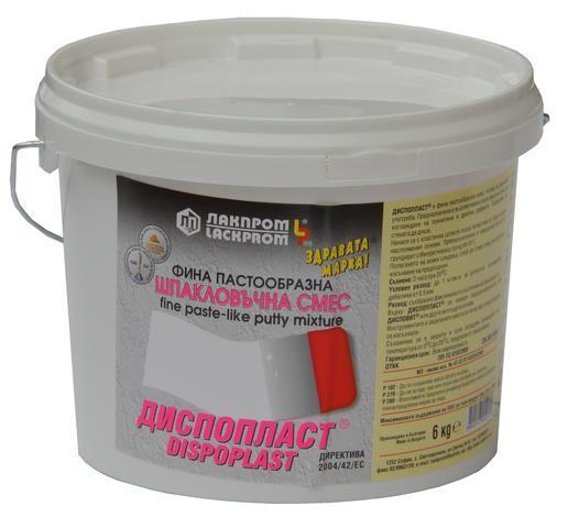 Шпакловка Диспопласт 6 кг