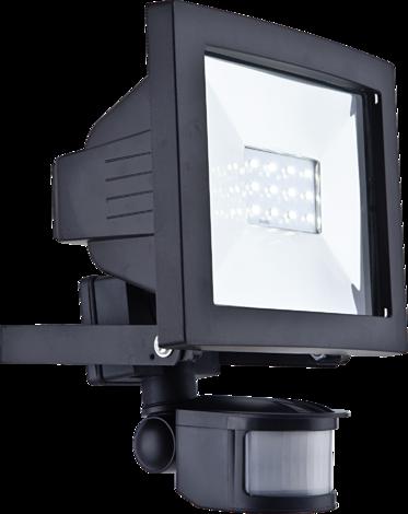 12-LED прожектор със сензор
