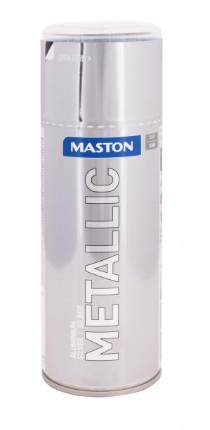 Спрей боя Maston 0.4л, металик сребро