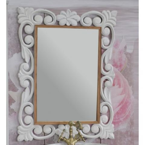 Огледало Виктория, бял мат