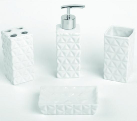 Порцеланови аксесоари за баня 4 елемента