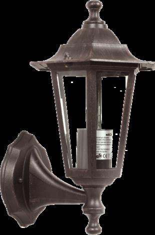 Градинска лампа 60W Е27 каф.