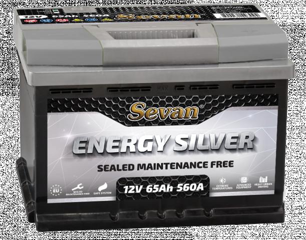 Акумулатор Energy Silver 65Ah