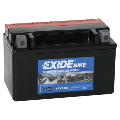 Мото акумулатор Exide YTX9-BS