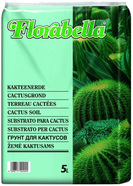 Почва за кактуси Florabella 5 л