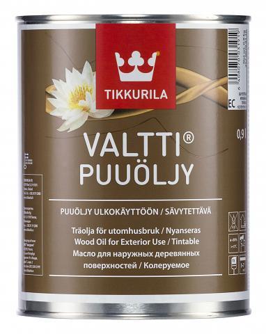Масло за дърво VALTTI WOOD OIL EC 0.9л