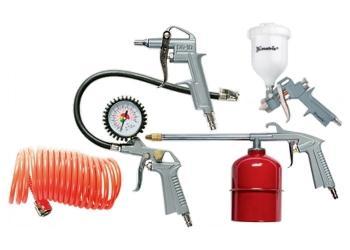 Комплект пневматични инструменти 5 части MTX