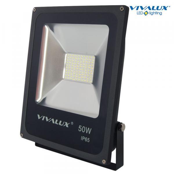 LED прожектор HELIOS LED 50W 4000lm 6400K черно IP65