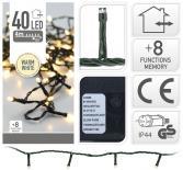Светлинна верига OUT 40 LED 4м топло бяла светлина