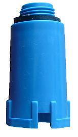10 бр. PPR тапа синя