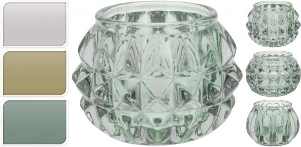 Свещник стъклен