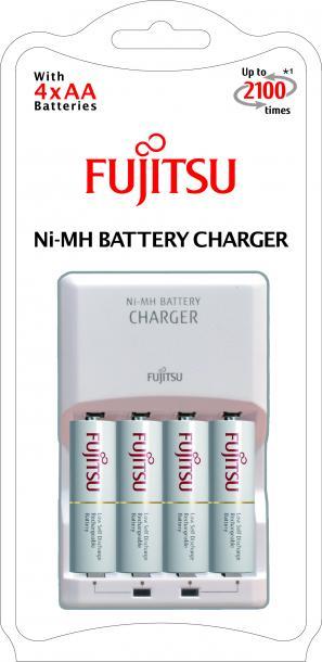 Зарядно с акумулаторни батерии 4 BP AA Fujitsu