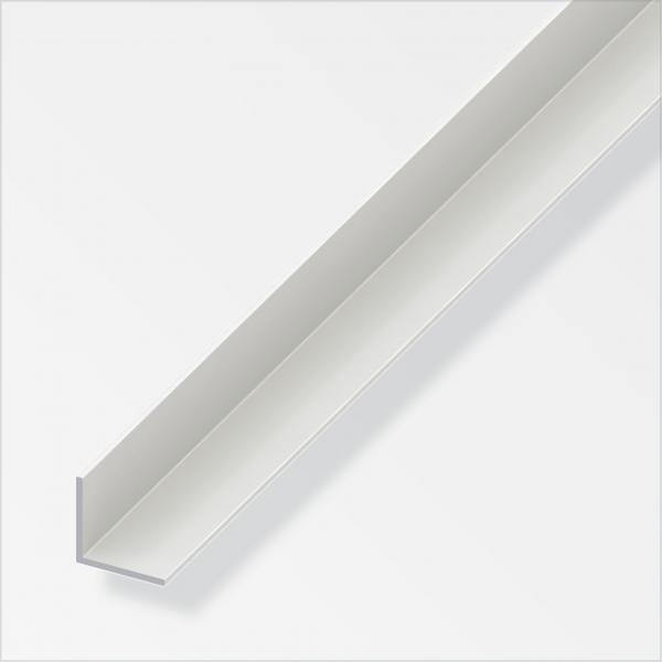 Ъглов профил 40x40 PVC бял 1м