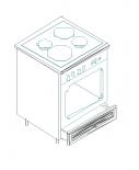Ава шкаф за фурна 60х60х90.3