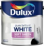 Интериорна боя DuluxSatin 2.5л, брилянтно бяла