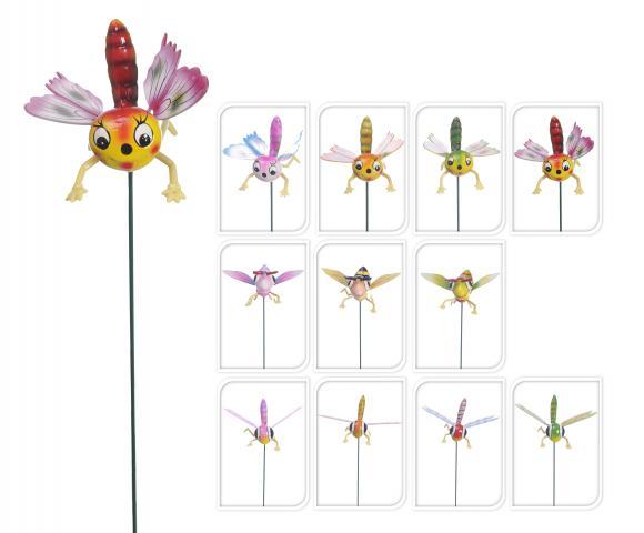 Градински стик / Пеперуда, водно конче, пчела/