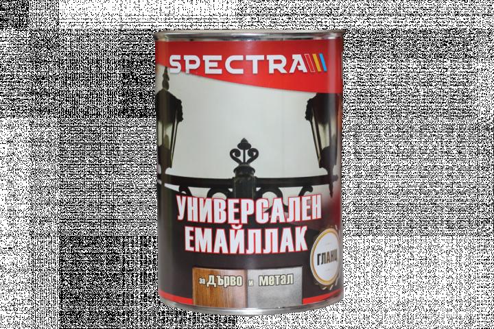Емайллак Spectra Universal гланц 0.65л, бял