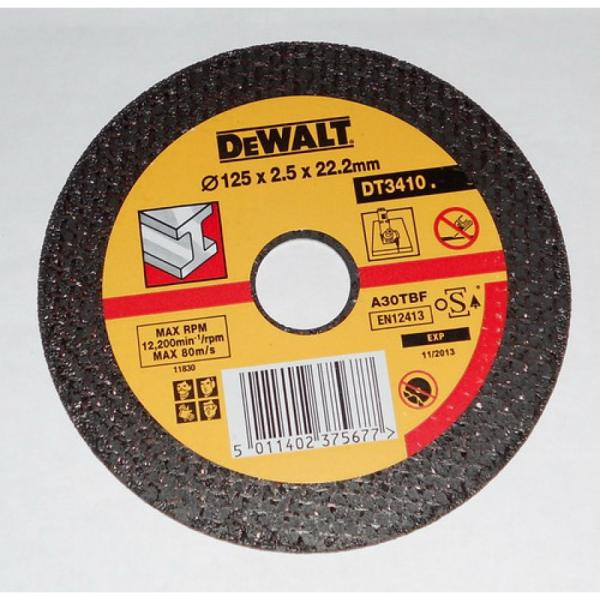 Диск за рязане на метал DT3410 125мм