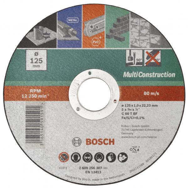 Диск за рязане Multiconstruction Bosch 115мм