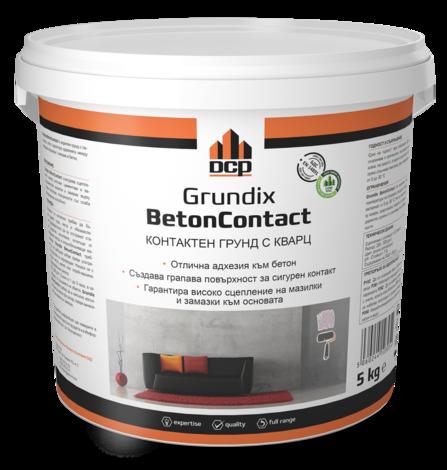 Мултифункционален контактен грунд Grundix Betoncontact 5 кг