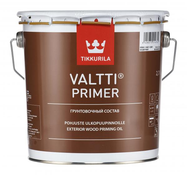 Грундиращо масло за дърво VALTTI PRIMER 2.7л