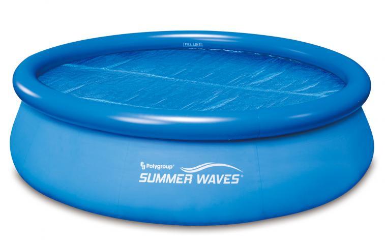 Соларно покривало за басейн с диам.3.05м.