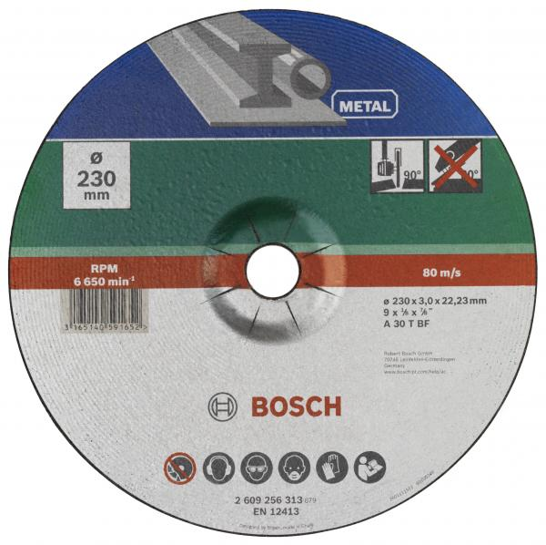 Диск за рязане на метал Bosch 230mm