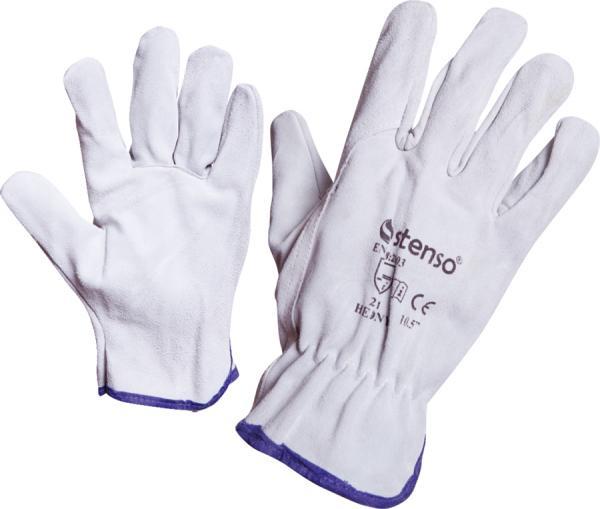 Ръкавици от цепена кожа  10 HERONY