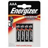 Батерия Energizer Alkaline Power AAA 1.5V 4бр.