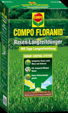 Тор COMPO FLORANID® за тревни площи със забавено освобождаване 1,5 кг