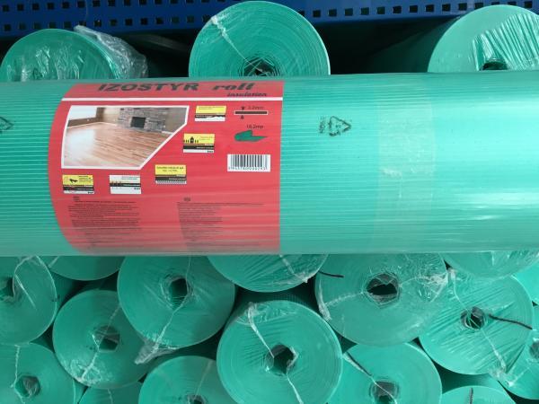 Изолационна подложка XPS 2.2 mm за подово отопление