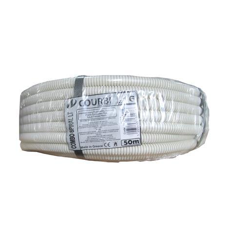 Тръба гофрирана PVC Ф20/14,6мм 50м 320N