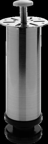 Метален крак 150x50мм хром мат