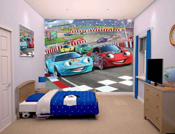 Детски фототапет Car Racer 304х243 см