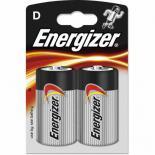 Батерия Energizer Alkaline Power D 1.5V 2бр.