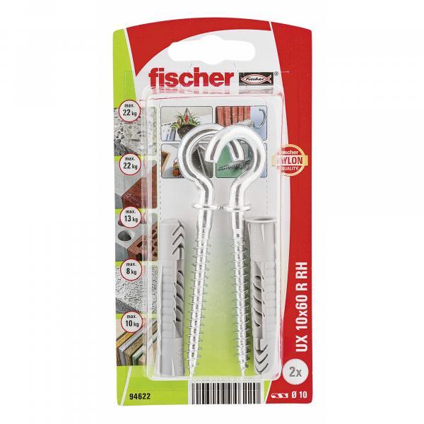 Универсален дюбел Fischer UX10x60RHK