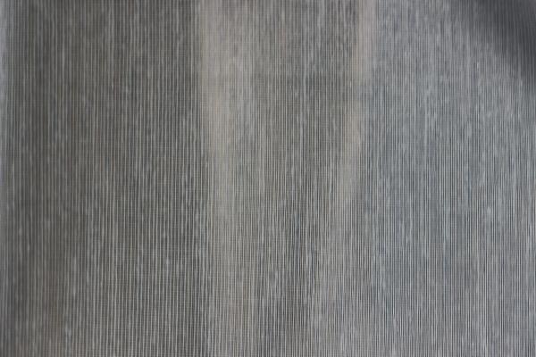 Тънко перде ленена структура - св.синьо