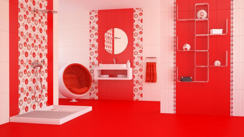 Фаянс Dreams Elements Rojo 2