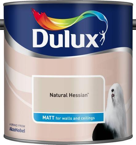 Интериорна боя DuluxMat 2.5 л, Natural Hessian